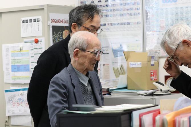 大澤映二先生が来社