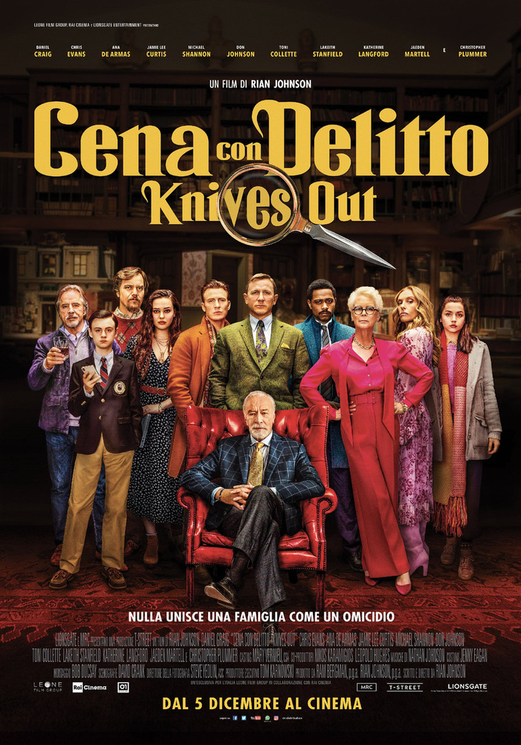 Knives Out - Cena con Delitto