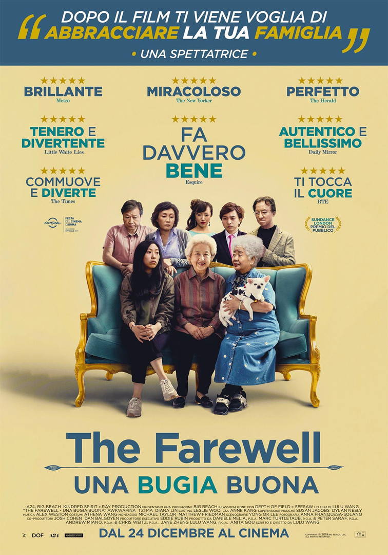 The Farewell - La Grande Sfida
