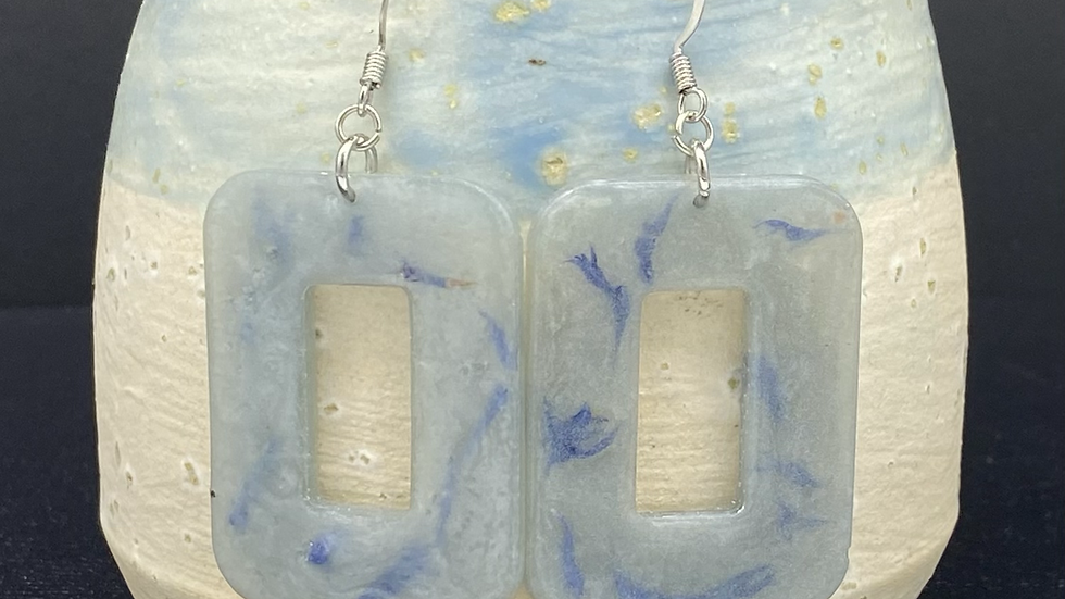 Rectangle Resin Hoops