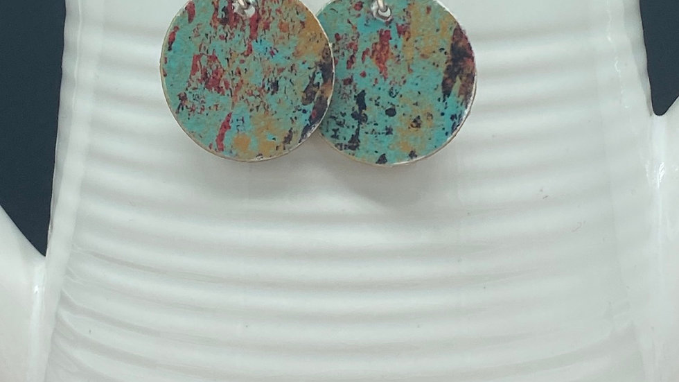 Petite Vintage Barn Earrings