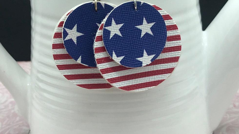 Patriotic Statement Earrings