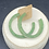Thumbnail: Green Hoop Earrings ~ Glitter
