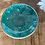 Thumbnail: Mini Trinket Dish ~ Green/Gold