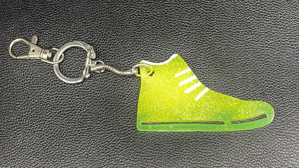 Sneaker Keychain Clip ~ Neon