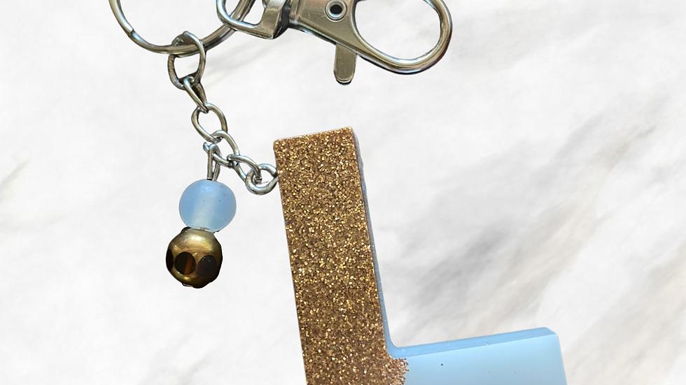 Monogram Keychain ~ L