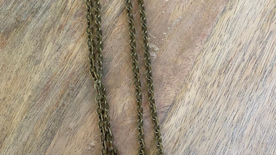 Handpainted Pendant Necklace