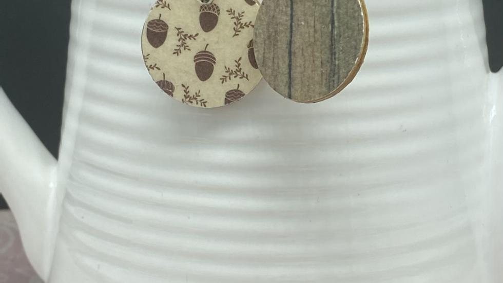 Acorns Fall Earrings