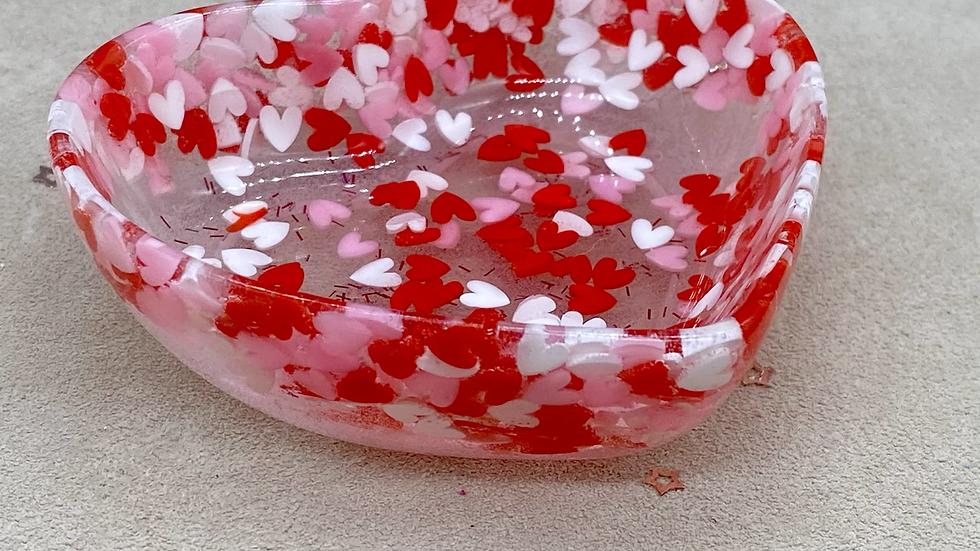 Hearts Trinket Dish