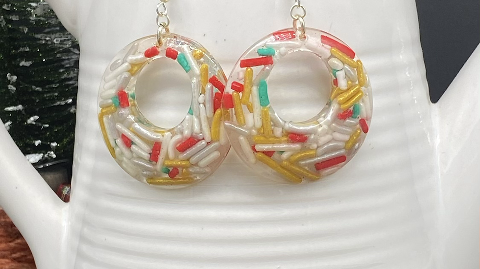 Holiday Sprinkles Statement Earrings