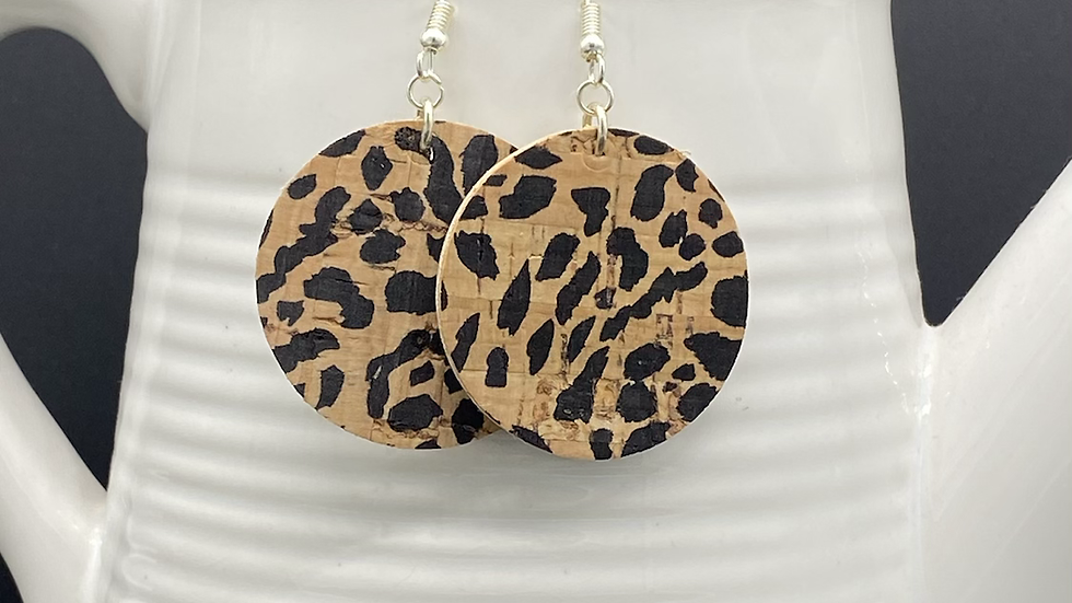 Leopard Statement Earrings
