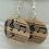Thumbnail: Music Notes Dangle Earrings