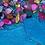 Thumbnail: Blue/Shell Coaster Set ~ Set of 2