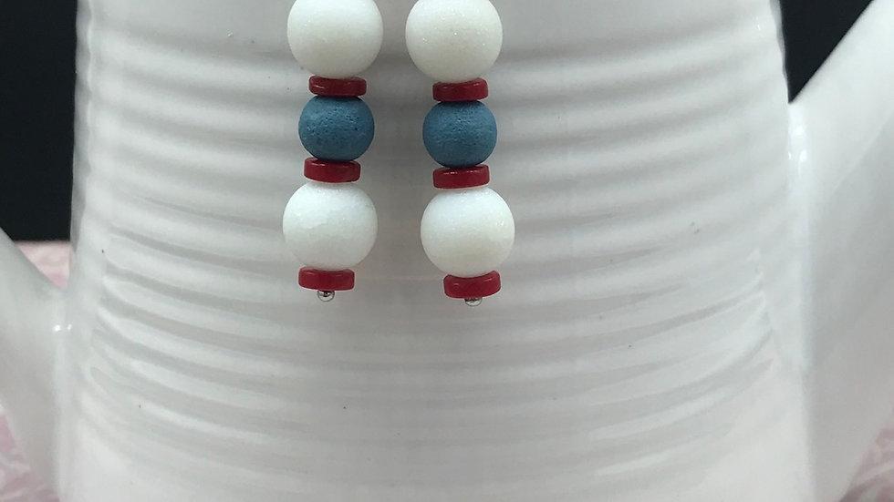 Vintage Americana Bead Dangle