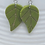Thumbnail: Leaf Dangle Earrings
