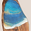 Thumbnail: Olive Wood Cheese Board ~ Small | Ocean themed