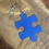 Thumbnail: Blue Puzzle Piece Awareness Keychain