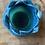 Thumbnail: Two Tone Lotus Tea Light Dish