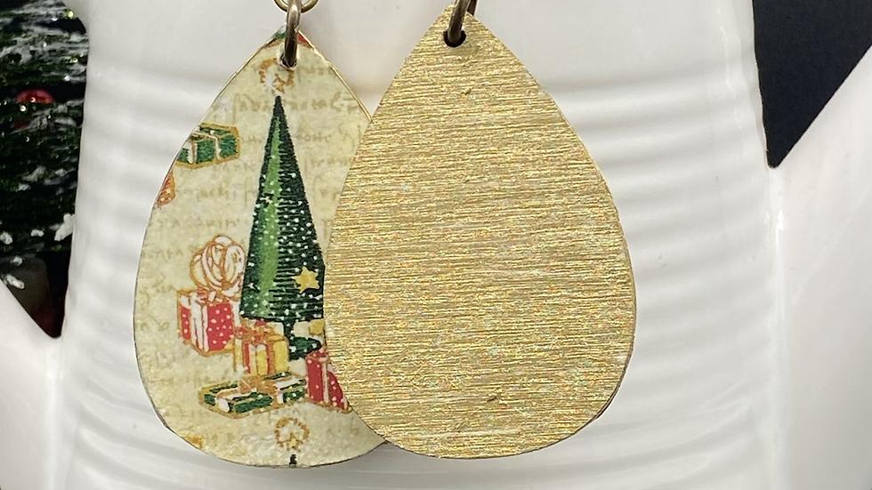 Christmas Tree Statement Earrings