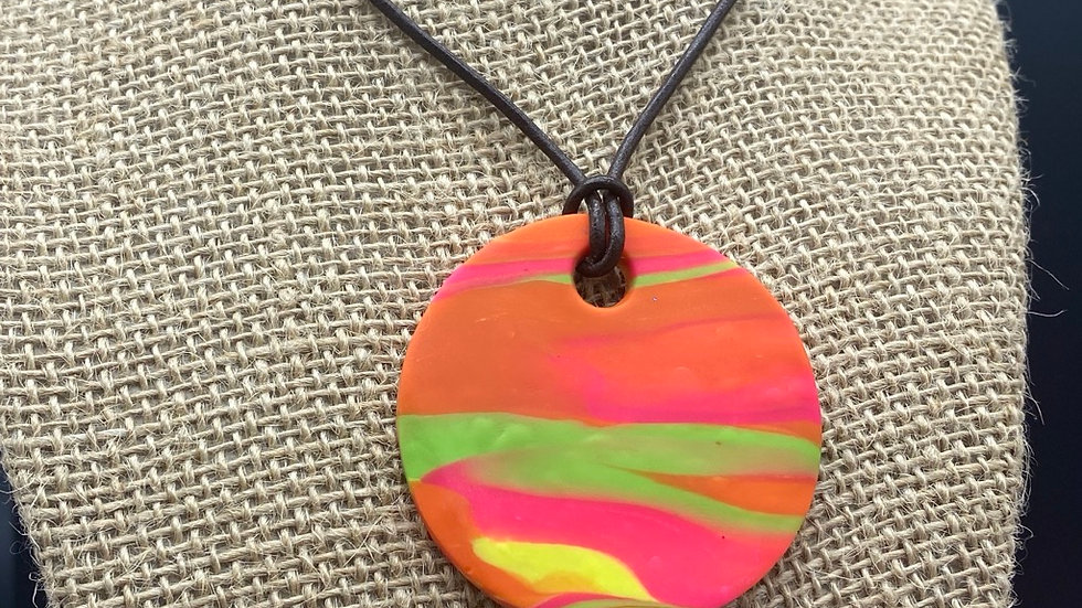 Sunset Vibes Pendant Necklace