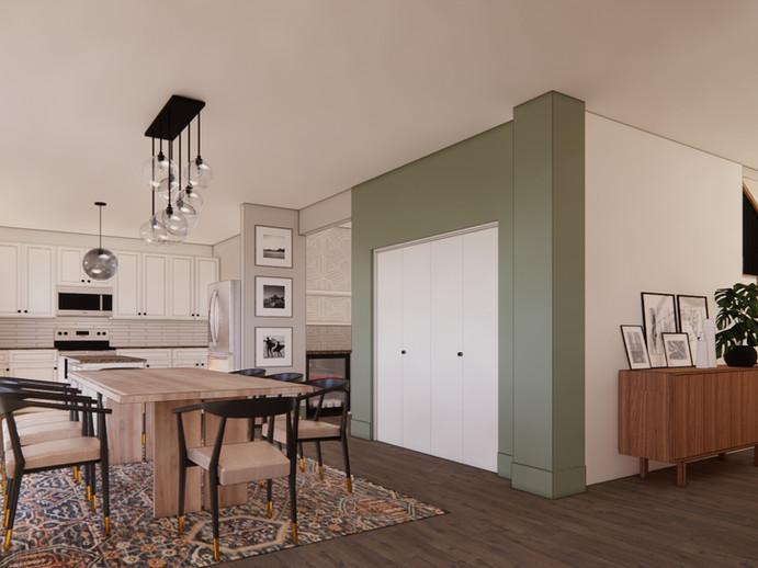 Dining Kitchen Design