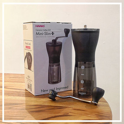 HARIO MINI SLIM GRINDER CERAMIC BURRS