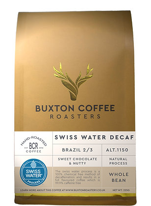 Brazilian Swiss Water Decaffeinated