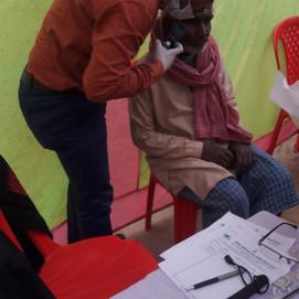 Free Medical Health Camp&Eye Camp Organised by JAMC&H (Gautam Chairtable Trust) at Ahraura Mirzapur
