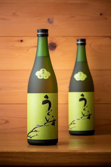 日本一の梅酒のラベル