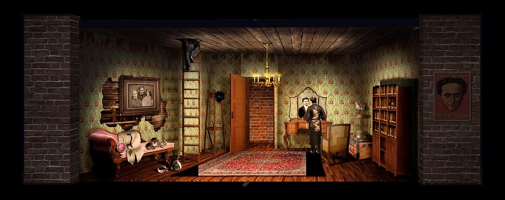 Houdini's Dressing Room