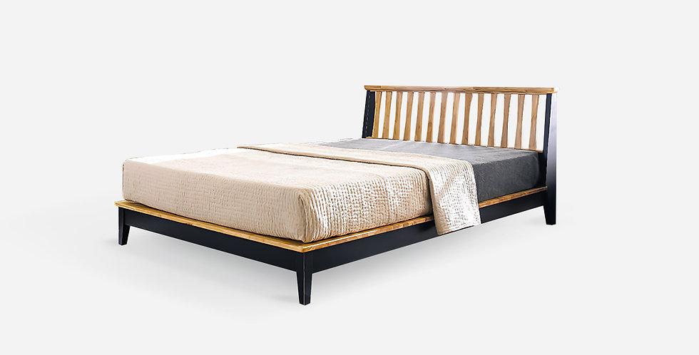 Giường ngủ gỗ Sồi Mỹ kiểu Hàn