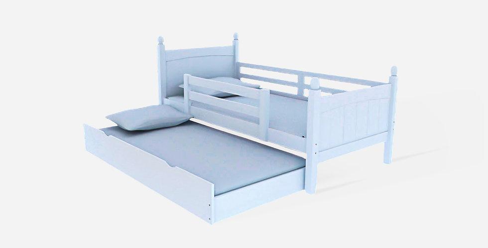 Giường ngủ cao cấp an toàn cho bé Màu trắng - 05