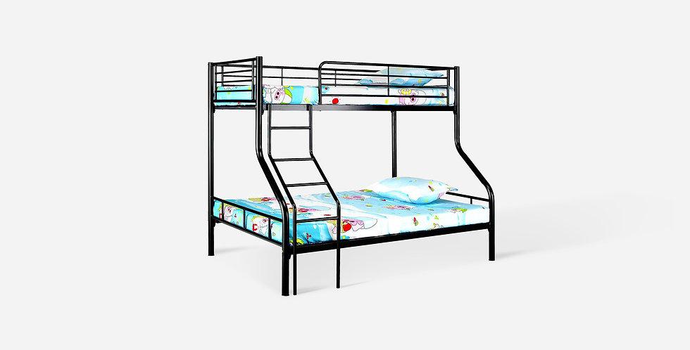 Giường tầng cho bé màu đen - 01
