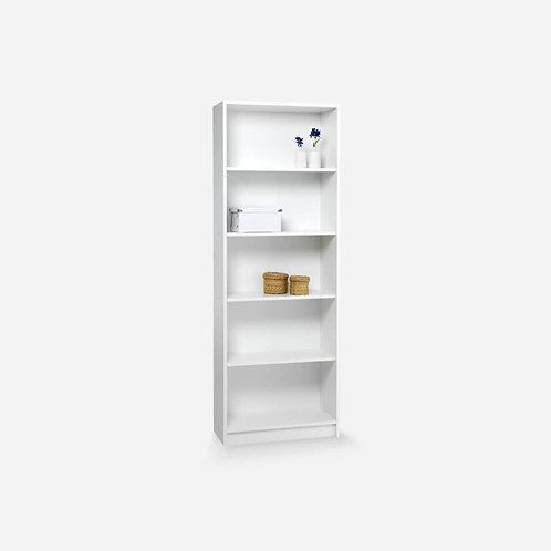 Kệ sách gỗ 5 Tầng màu trắng - 02