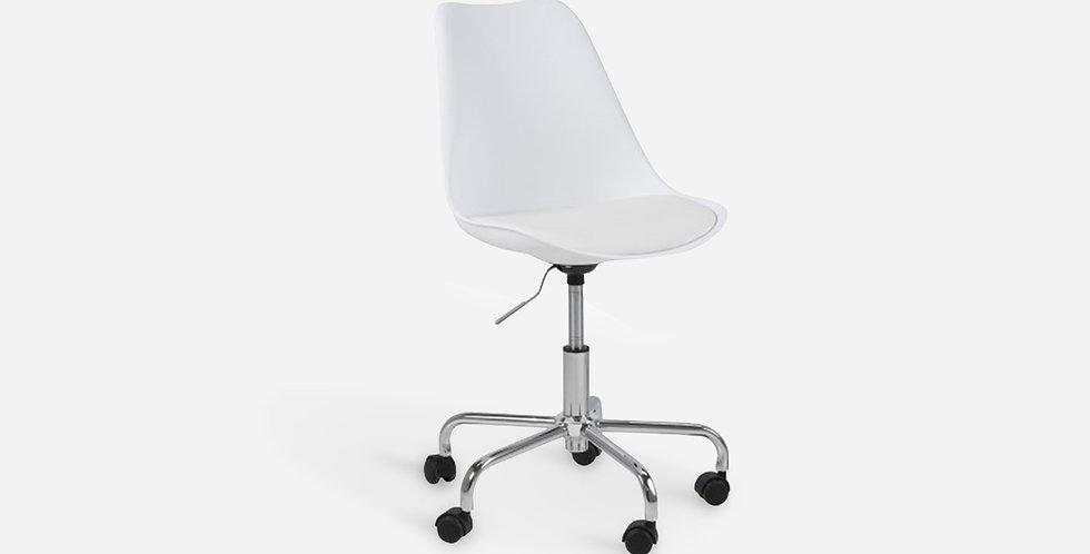 Ghế văn phòng đệm da - 02