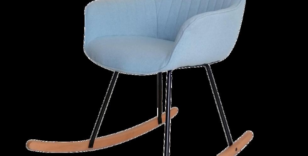 Ghế bành khung gỗ bọc nệm xanh AC-012