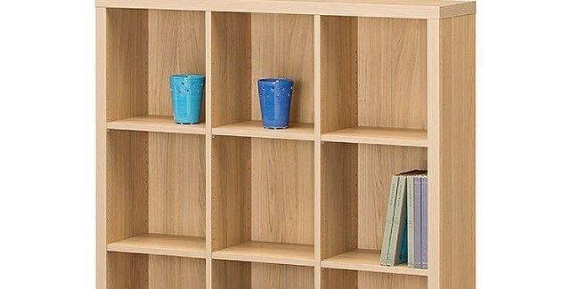 Kệ sách BS-012 Màu gỗ có vân
