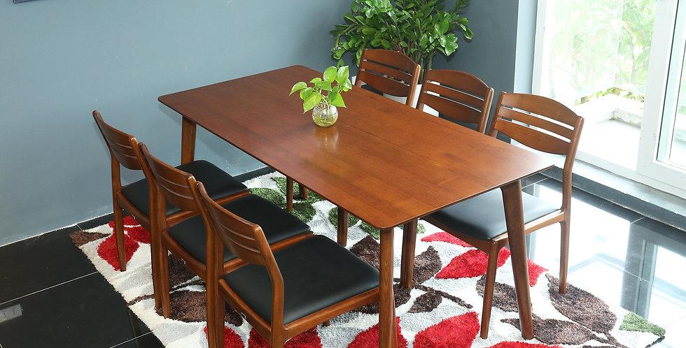 Bàn ghế ăn DS-021 (1 bàn + 4 ghế)