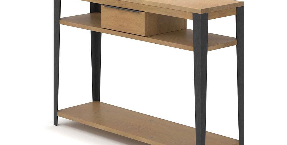 Bàn trang trí CO-003 gỗ sồi khung kim loại