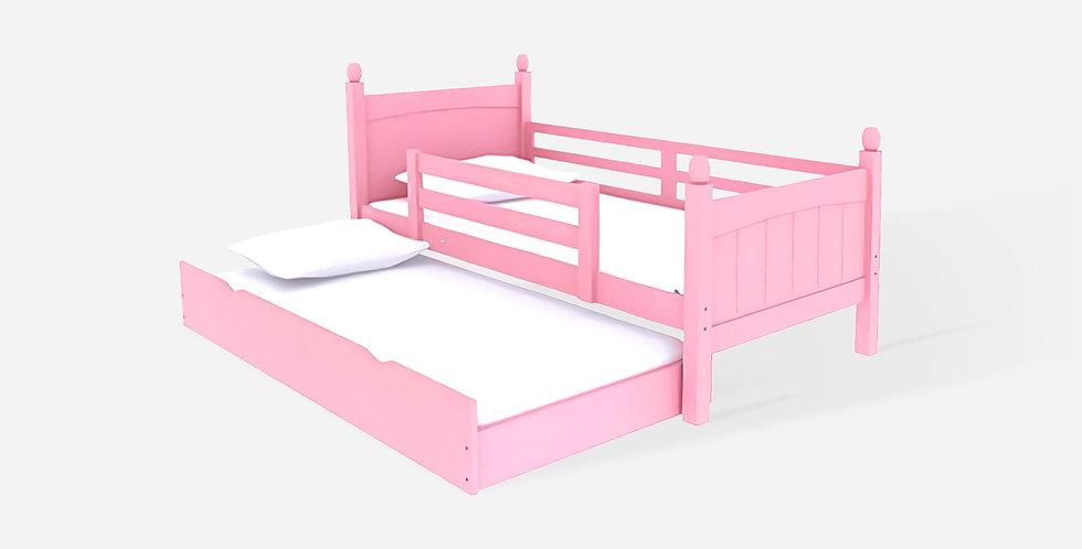 Giường ngủ chất lượng cao an toàn cho bé Màu hồng - 04