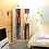 Thumbnail: Tủ quần áo hai cánh trắng kèm gương WD-018