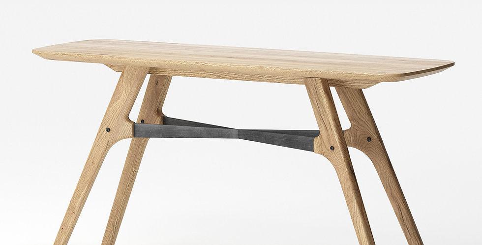 Bàn trang trí gỗ sồi CO-002 1m4