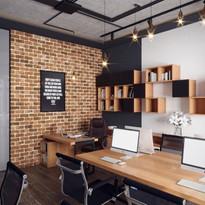 Mẫu thiết kế hiện đại, đơn giản cho phòng làm việc tại nhà
