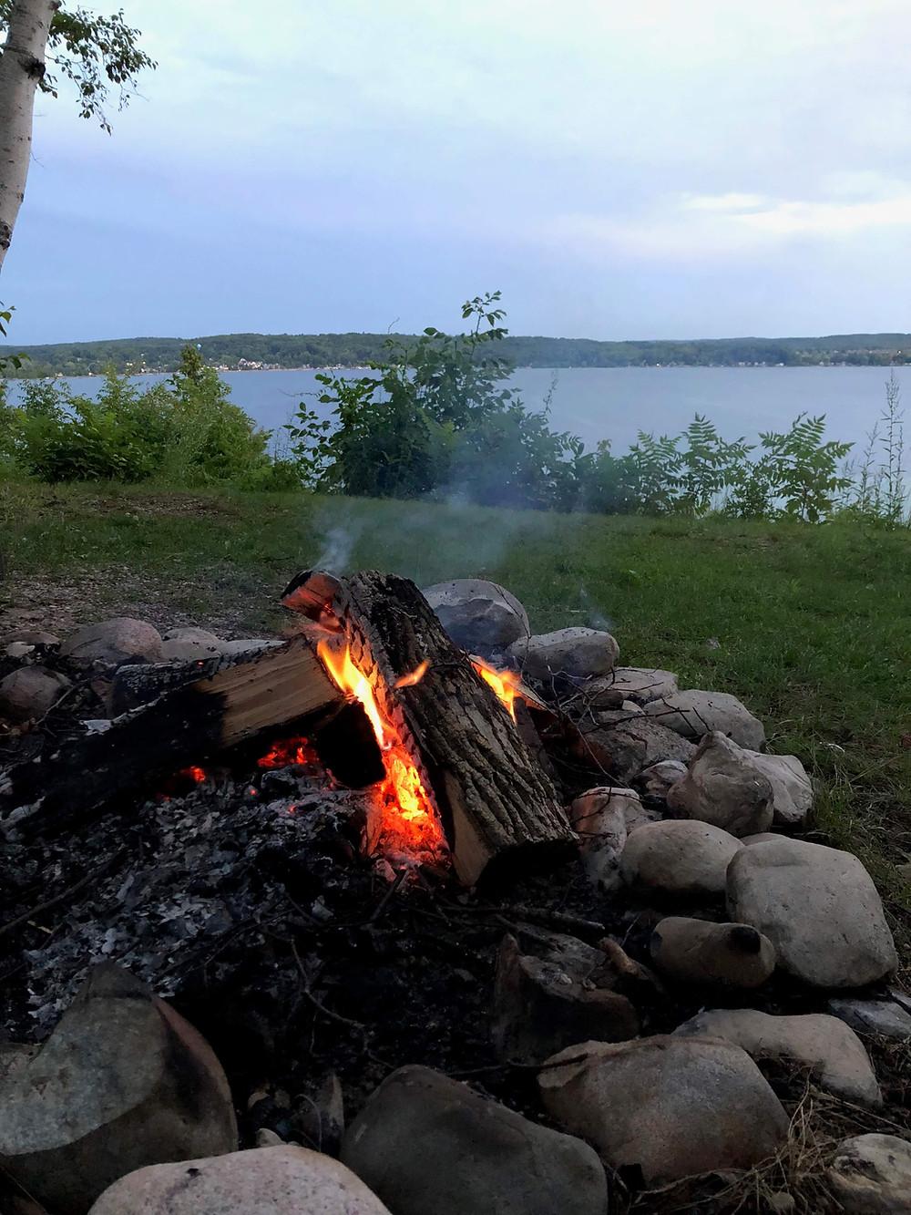 Campfire Crystal Lake