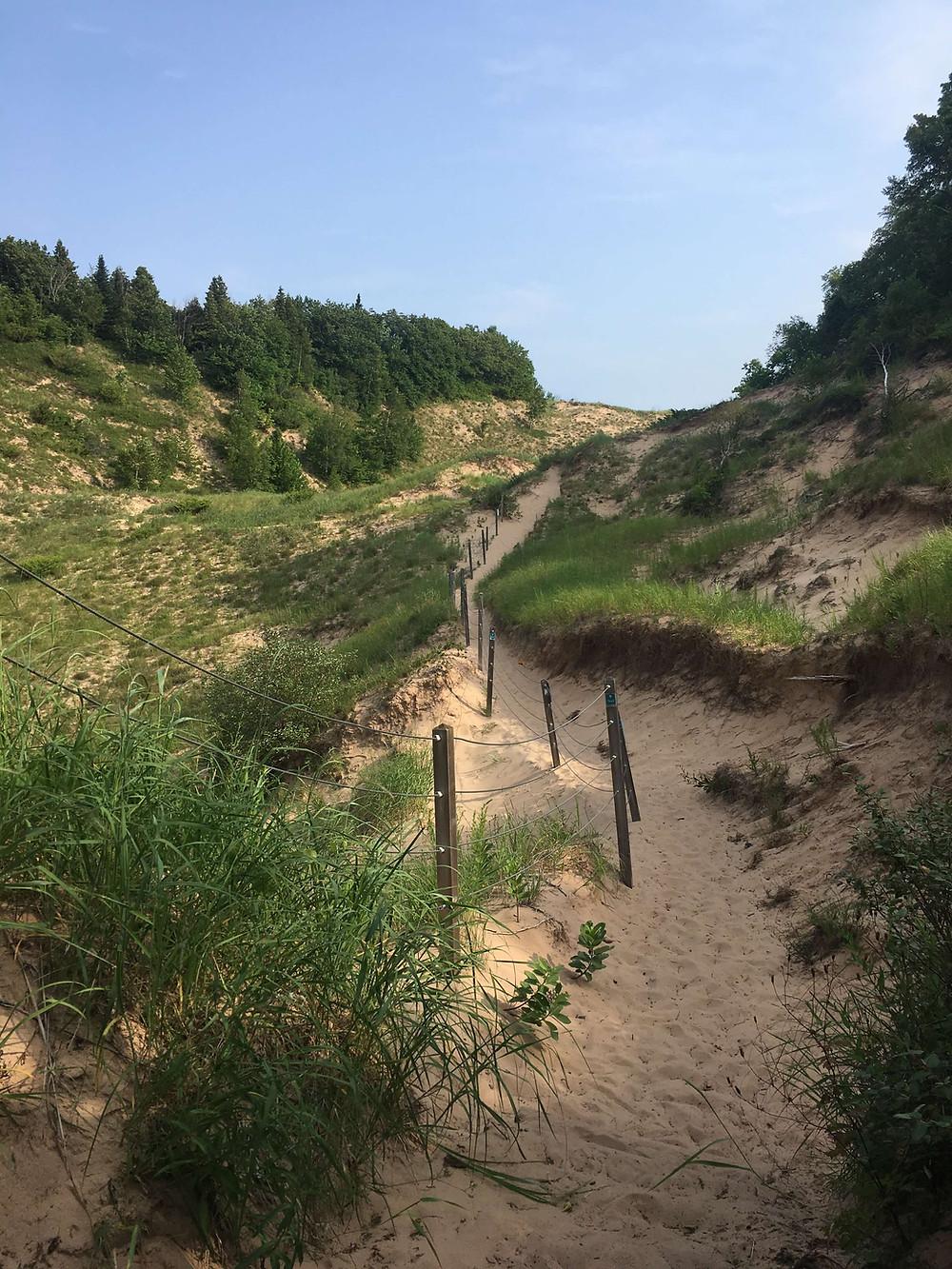 Arcadia Dune Baldy Trail