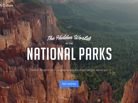 """Virtual """"Couch Tours""""of the National Parks"""