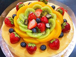 水果繽紛裸旦糕