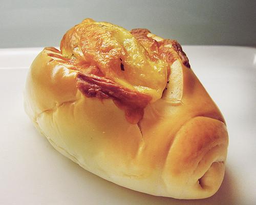 羅宋香椿麵包