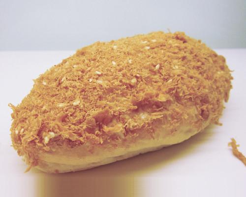 素肉鬆麵包