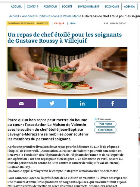 Lire la Suite  https://94.citoyens.com/initiative_citoyenne/un-repas-de-chef-etoile-pour-les-soignants-de-gustave-roussy-a-villejuif